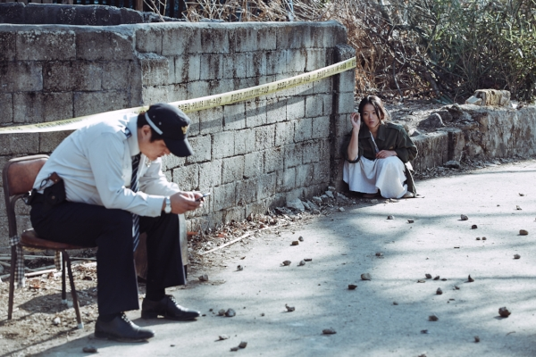 Korean movies are great at de-dramatizing certain concepts for maximum effect. This scene here was delightfully weird.