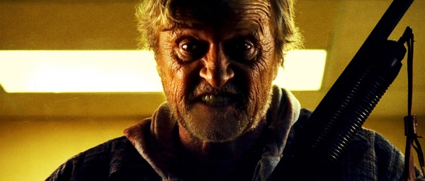 The heartbreaking thing about   Hobo with a Shotgun   is that  Rutger Hauer  is kind of good in it.