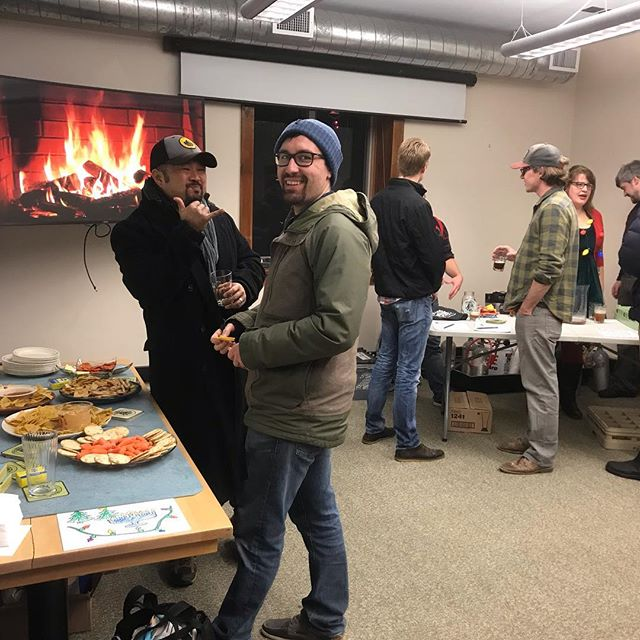 We had so much fun at our annual social and pop up. Thank you artists, beer lovers, and 12-22 North (our gracious hosts)!