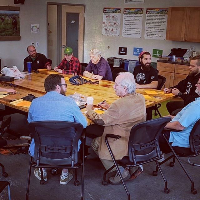 Such a fun and engaging process, at this morning's #fullbarrelcoop brewery & taproom design charrette! Thank you to all of our members who contributed via interview and in person feedback. #vtbeer #vtcoops