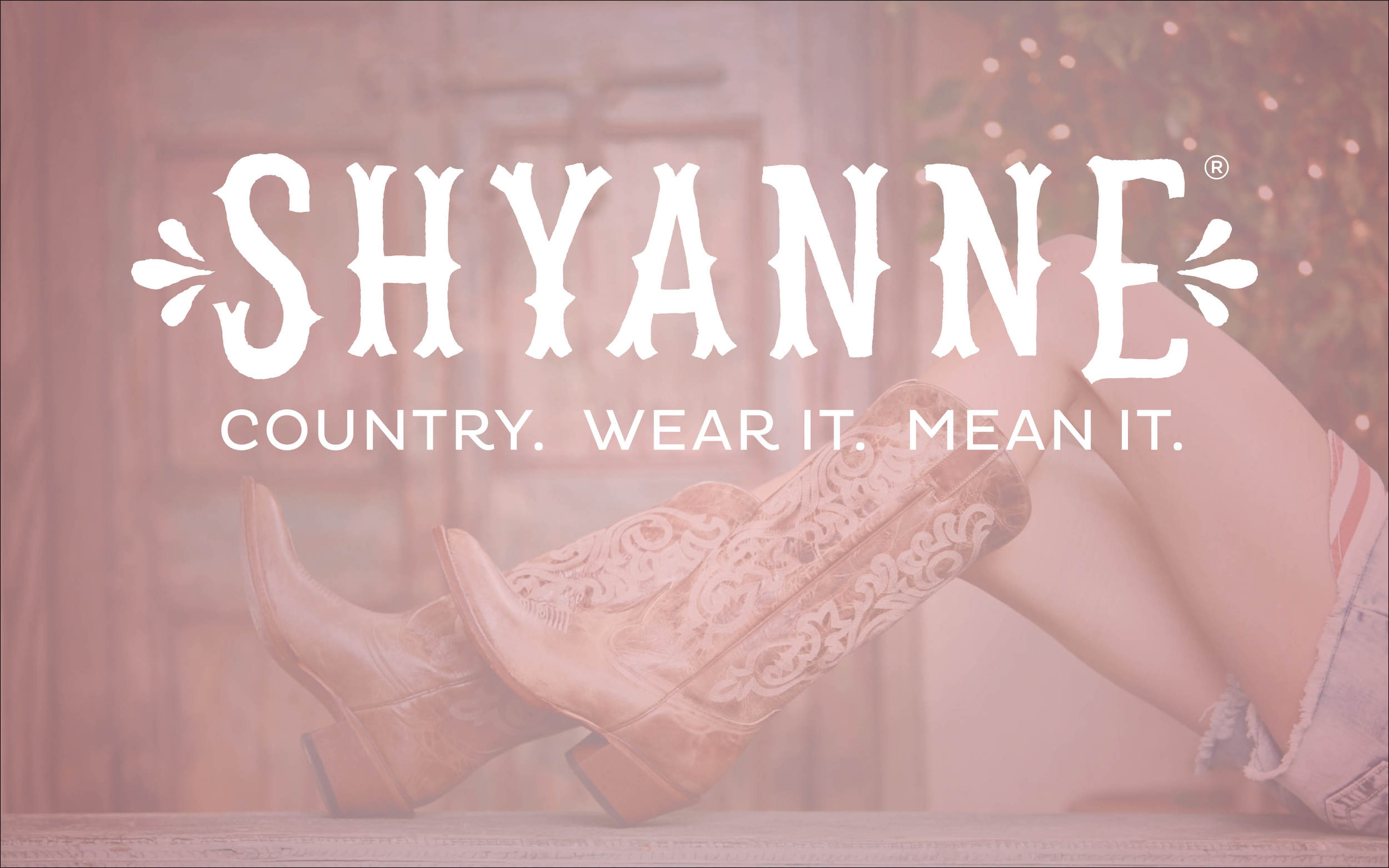 Relaunch of a women's western apparel owned brand for Boot Barn.