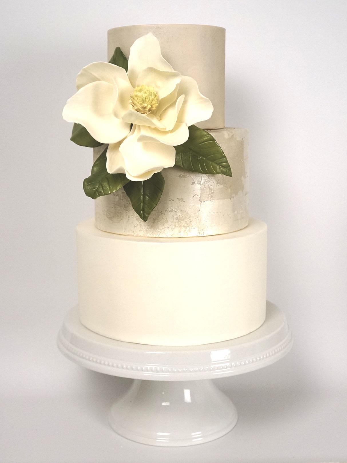 antique-silver-metallic-magnolia-wedding-cake-baltimore-maryland.jpg