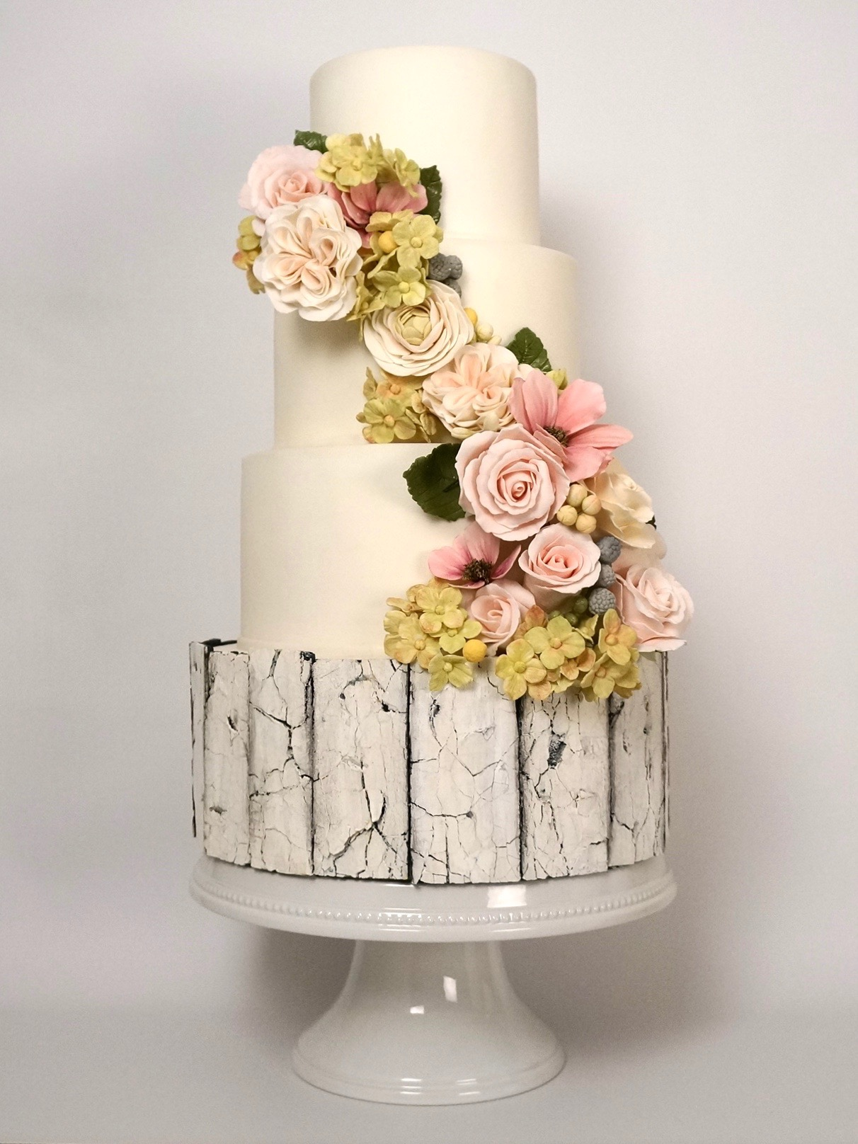 rustic-aged-wood-white-rose-floral-gumpaste-flower-pink-pretty-wedding-cake-baltimore-maryland.jpeg