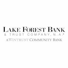 Lake Forest Bank & Trust, a Wintrust Community Bank     Steven Milota, Senior Vice President   A true community bank