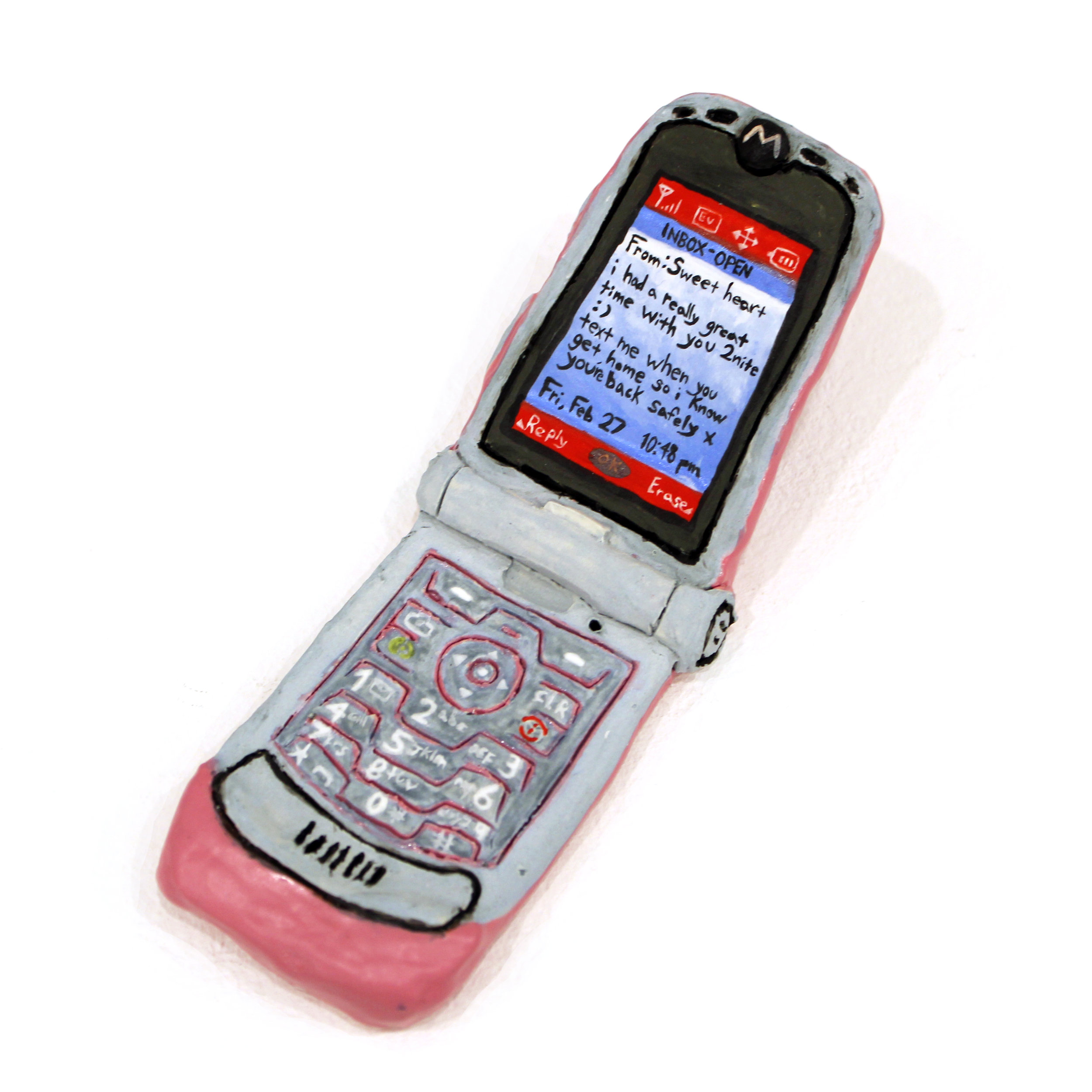 Text from Sweetheart on a 2004 Razor