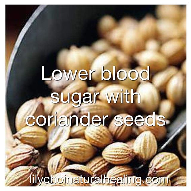 Coriander seeds have been used as a culinary spice for ages. It is either sold a whole or ground with a flavor that is similar to a blend of lemon, sage and caraway. Not only do they have a unique and intriguing flavor, but consuming them has been shown to provide us with many amazing health benefits!✨ —————————————————————— ✔️Lower Blood Sugar- coriander seeds have a blood sugar lowering affect on the human body. They can help stimulate the secretion of insulin and lower blood sugar. They can also improve carbohydrate metabolism and increased hypoglycemic action. ✔️Improve Cholesterol Levels- by incorporating coriander into your diet you can decrease your levels of bad cholesterol. This also increases your healthy cholesterol. ✔️UTI- coriander seeds are able to relieve symptoms of a urinary tract infection. Simply soak 1.5 teaspoons of dried coriander seeds overnight in 2 cups of water and strain to drink, or add to your morning smoothie. This can help relieve the discomfort and pain associated with UTIs. ✔️Food Poisoning Relief- coriander is a world famous relief for food poisoning. It has strong anti-microbial effects that combat against food borne pathogen's. ✔️Decrease Blood Pressure-if you suffer from hypertension, consuming coriander seeds has been shown to reduce blood pressure. It also has a direct effect on the body which is very helpful to ease those who are suffering from high blood pressure. Incorporate coriander seeds into your diet to decrease your risk of serious and deadly conditions such as blood clots and strokes! ✔️& many more! . . .  @lilychoinaturalhealing
