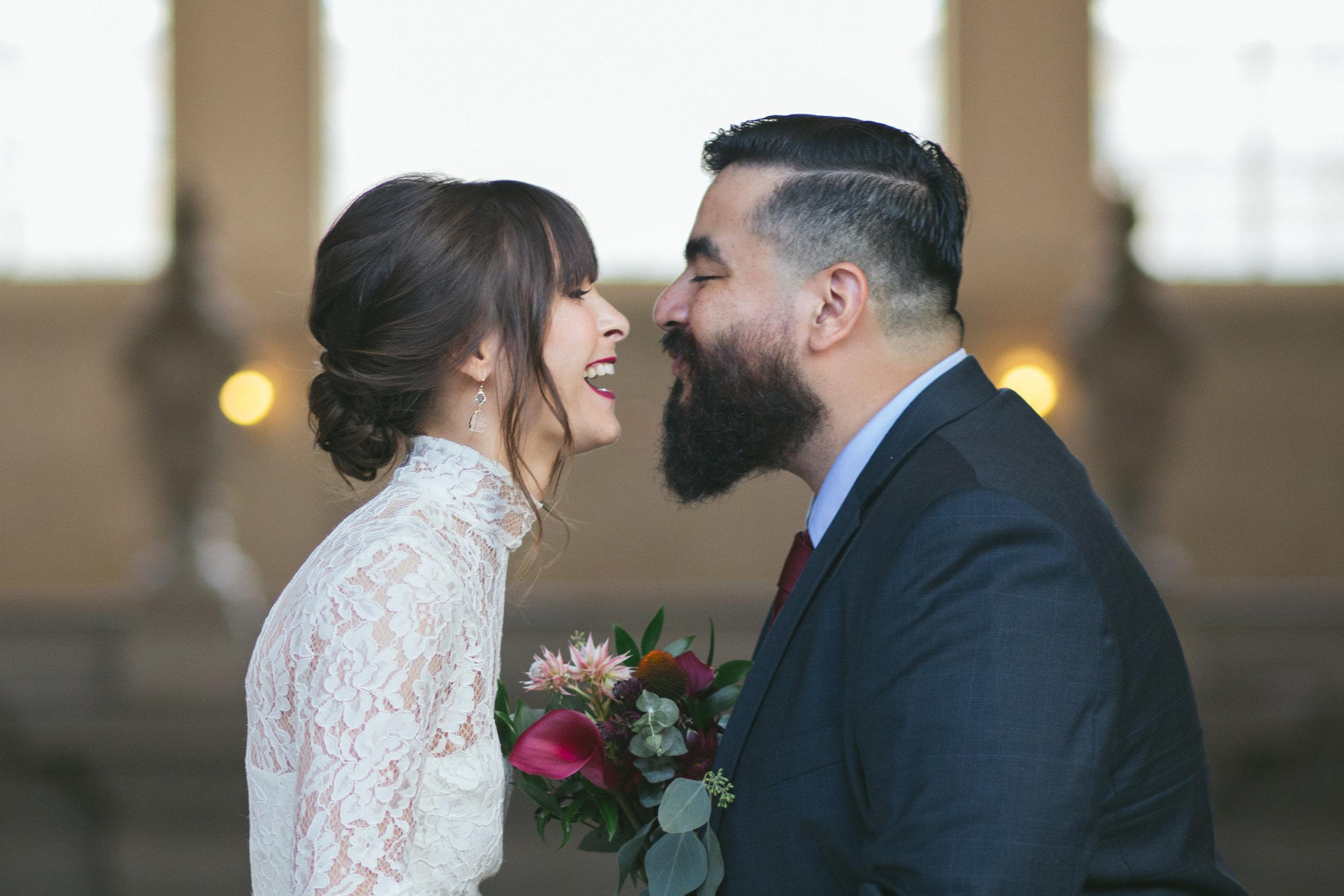 San Francisco City Hall Civil Ceremony / SF Bay Area Wedding Photographer - Natalie & Rogelio