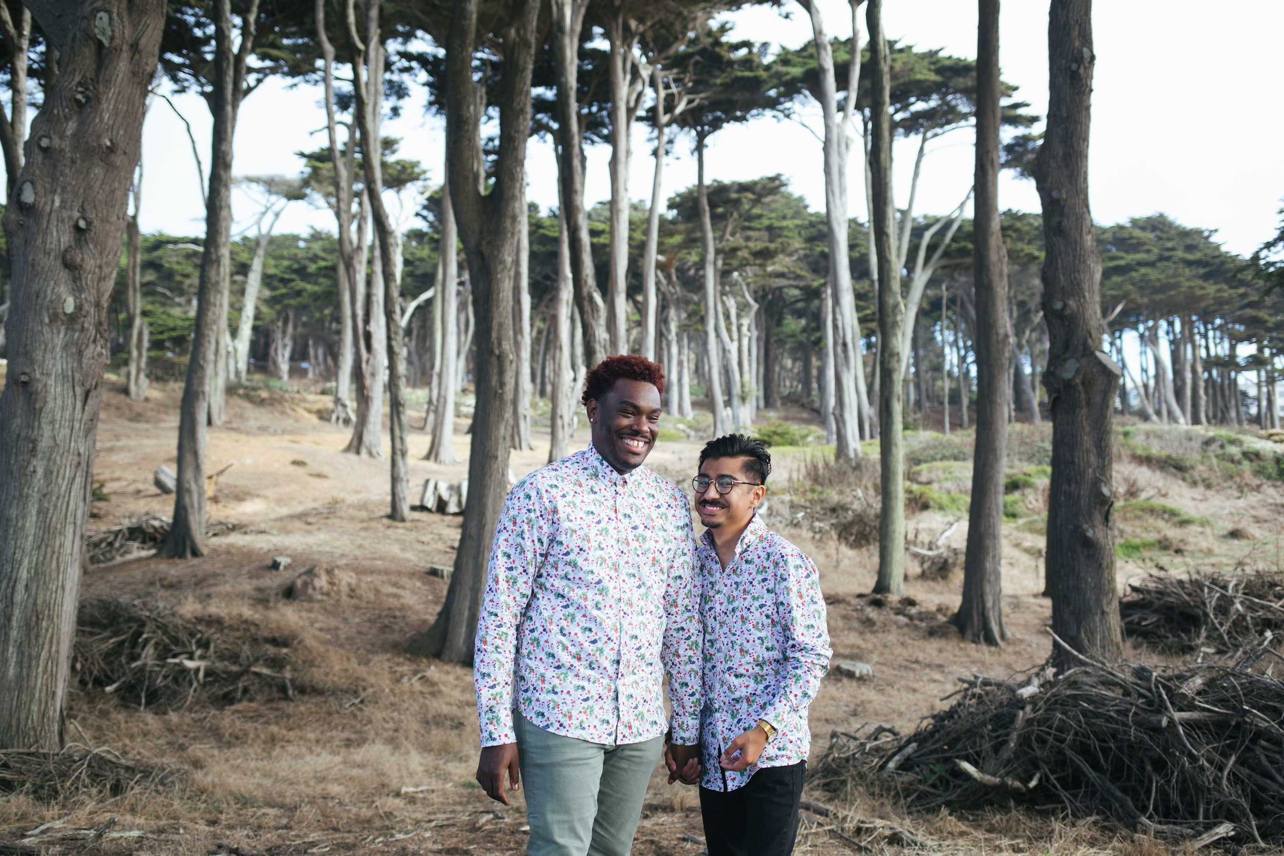 Sutro Baths Engagement Shoot / San Francisco Engagement Photographer - Trueman and Manolo