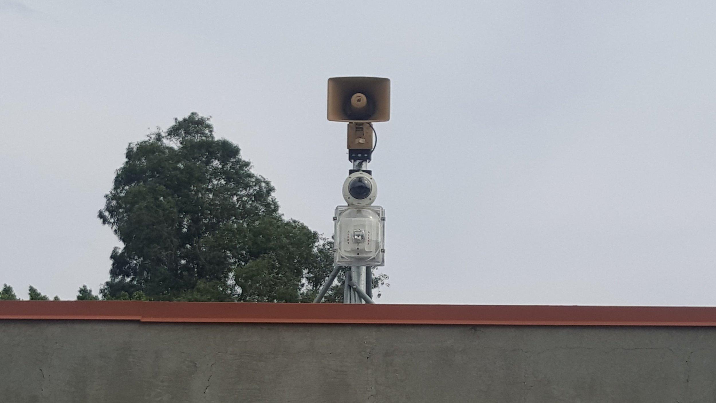Outdoor camera installation