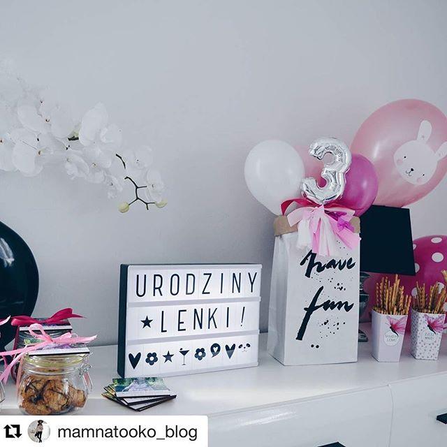 #Repost @mamnatooko_blog  Wspaniała aranżacja urodzinowa, a w niej nasze pudełeczka. #socutepl #dekoracja #urodziny #zabawa #partytime