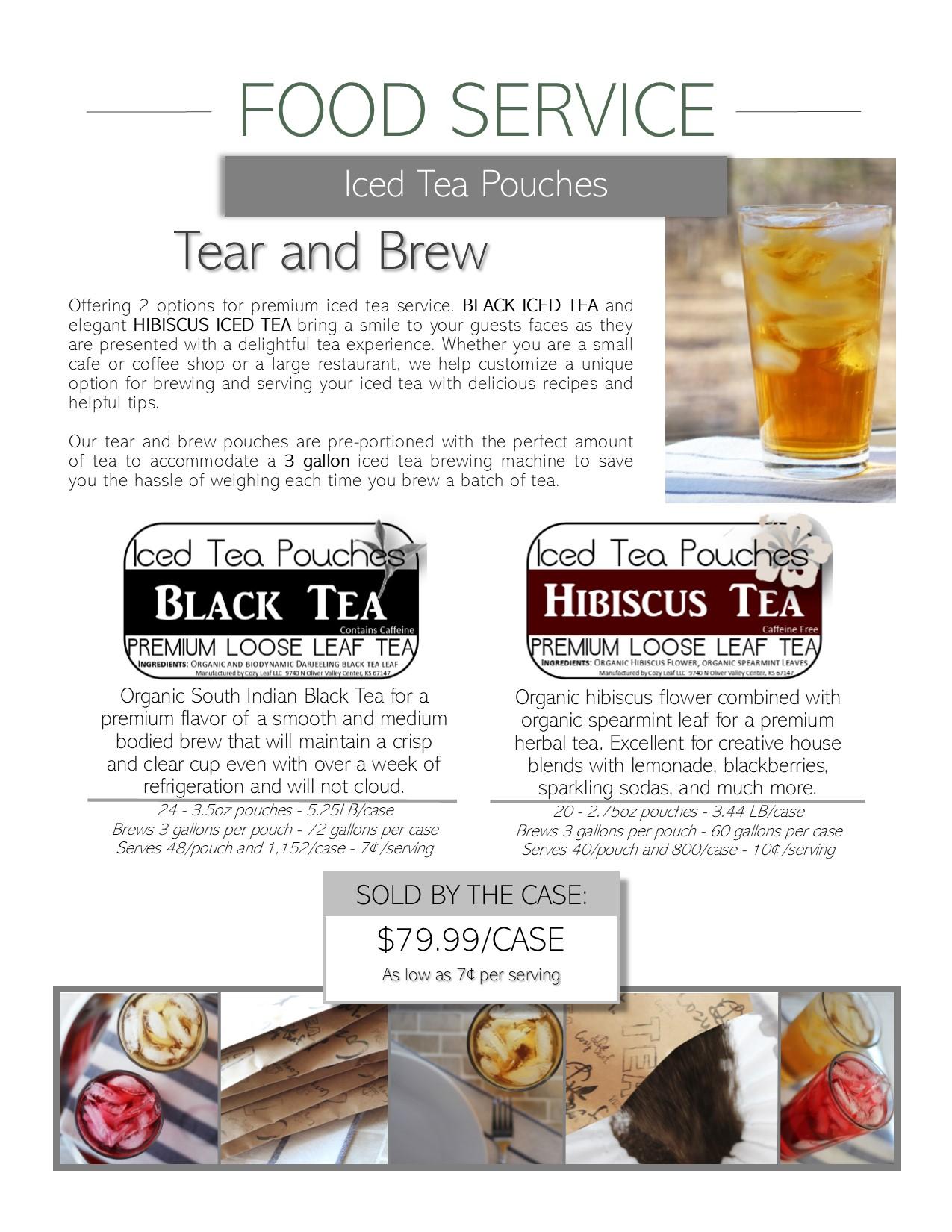 Leaf Logic Food Service Iced Tea
