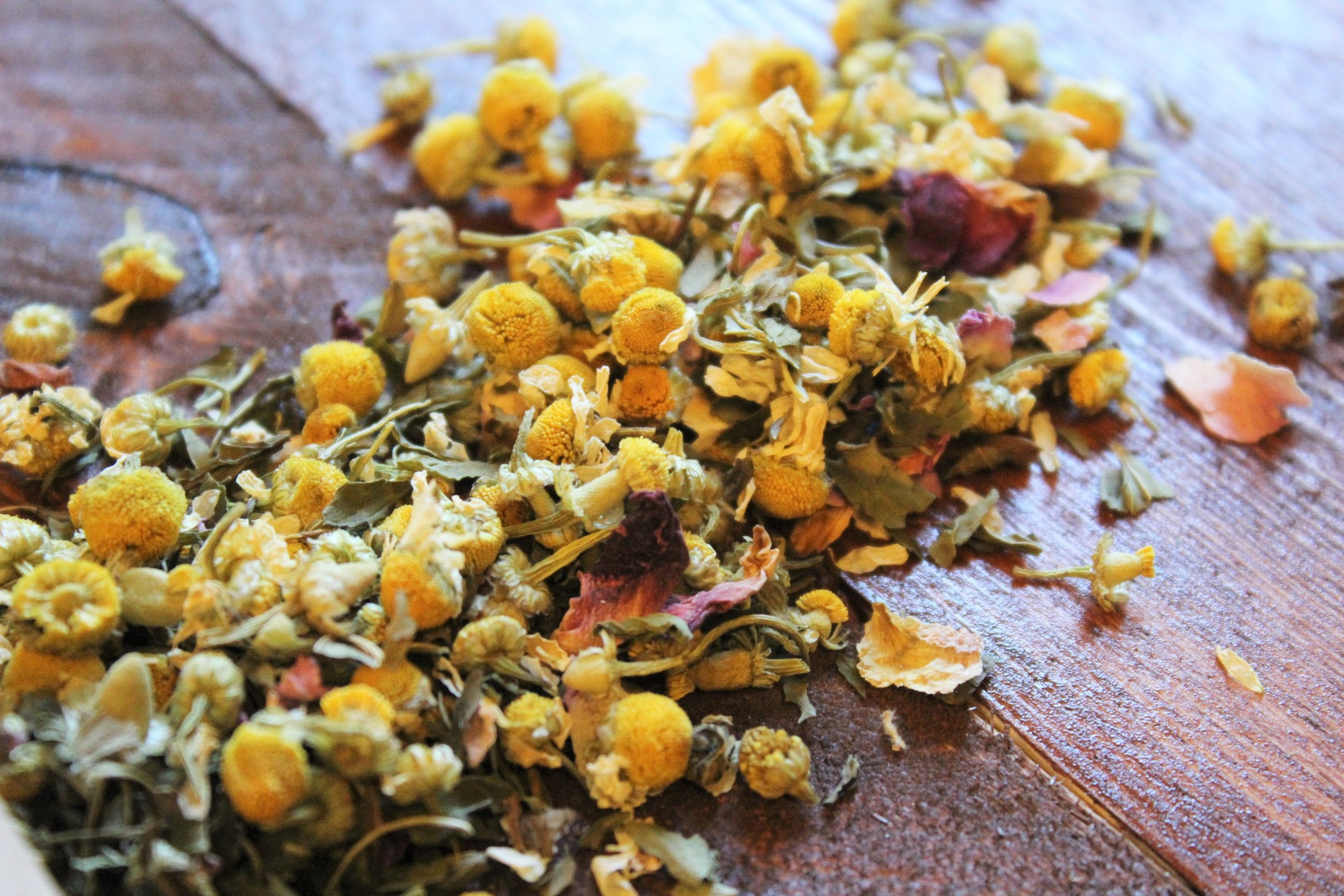 peaceful dreams chamomile night time tea