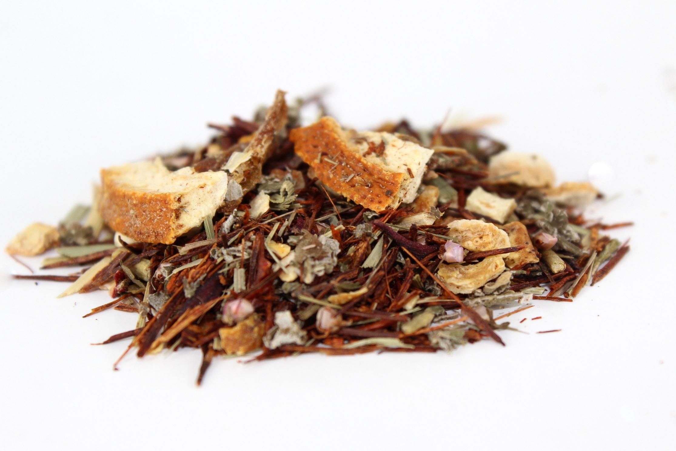 citrus medley rooibos orange loose leaf tea