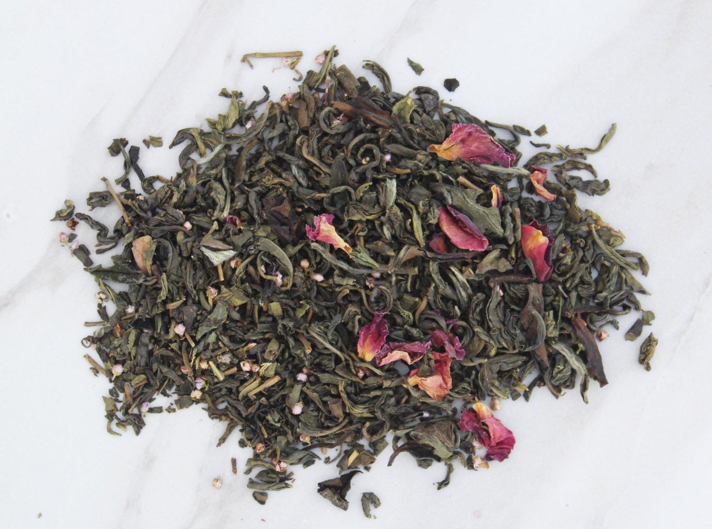 white jasmine green tea caffeine tea
