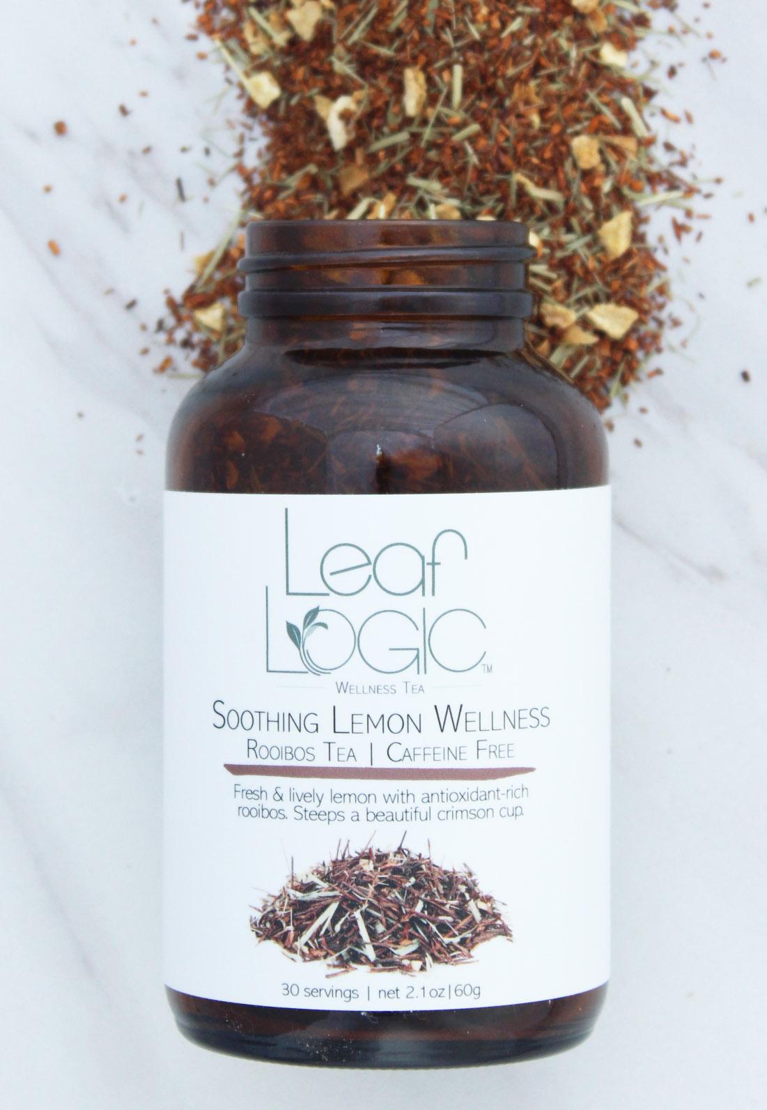 soothing lemon wellness rooibos tea