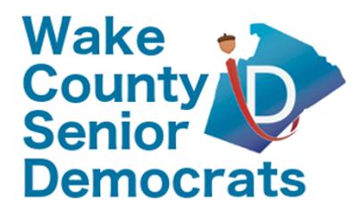 Wake County Senior Democrats    News  |  Twitter