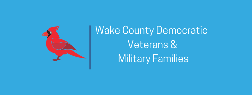 Wake County Democratic Veterans and Military Families    Website  |  Facebook
