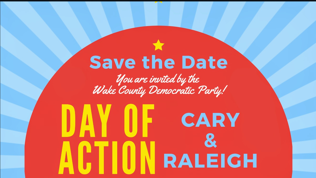 Contact Schnika Pender at  raleighvc@wakedems.org  for more information!