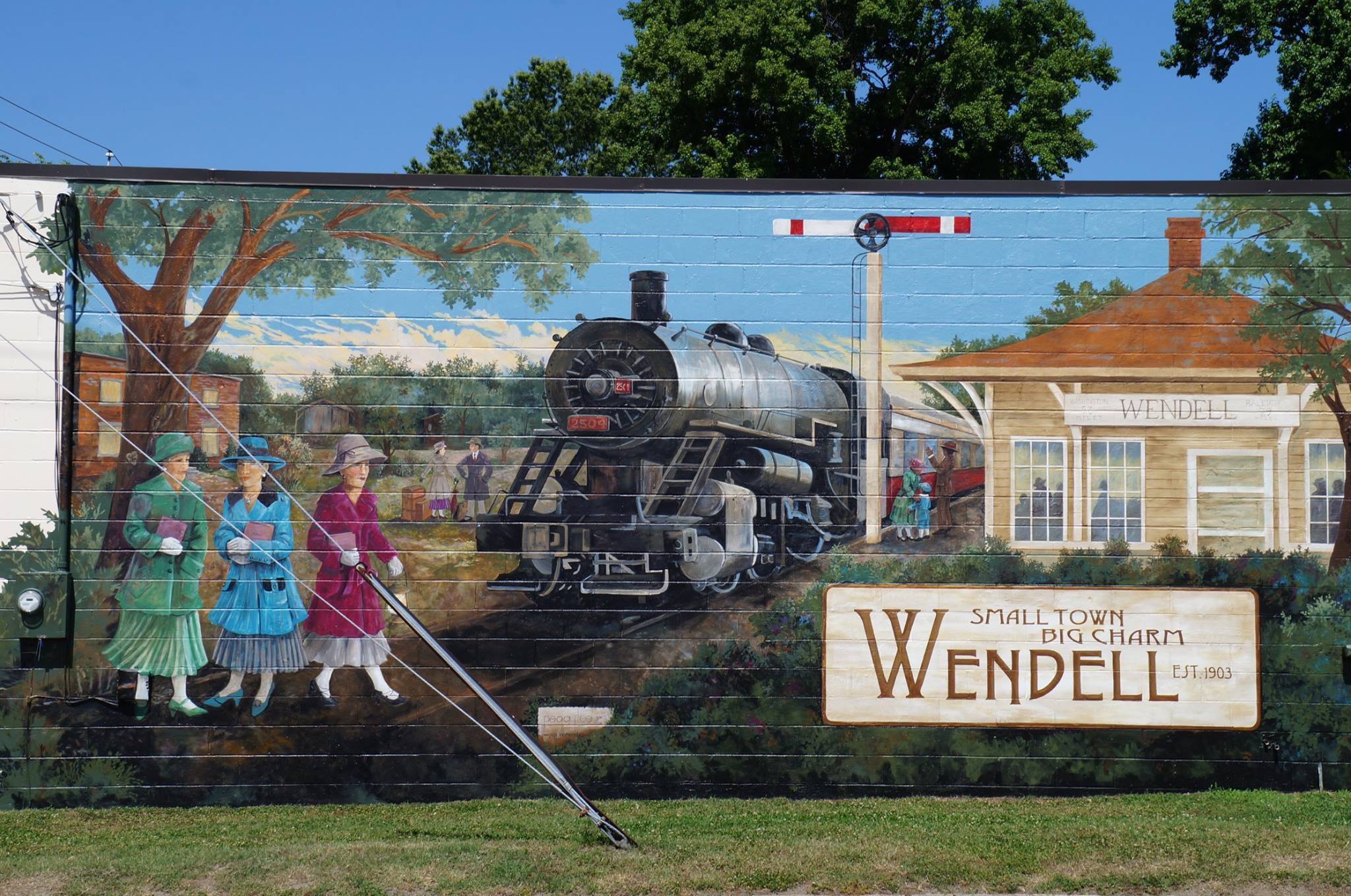 Downton Mural, Wendell