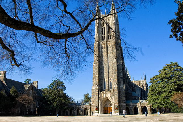 Duke University Chapel, Durham