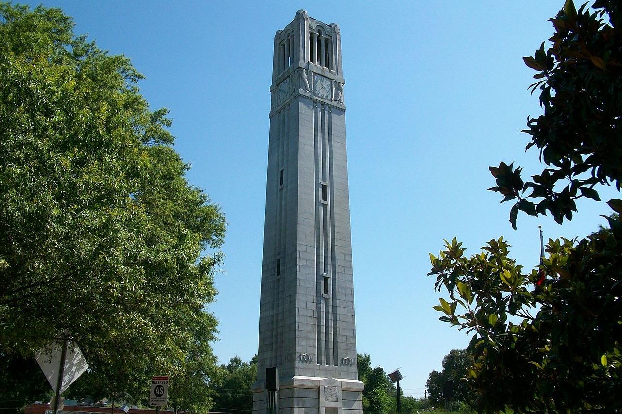 North Carolina State University Bell Tower, Raleigh