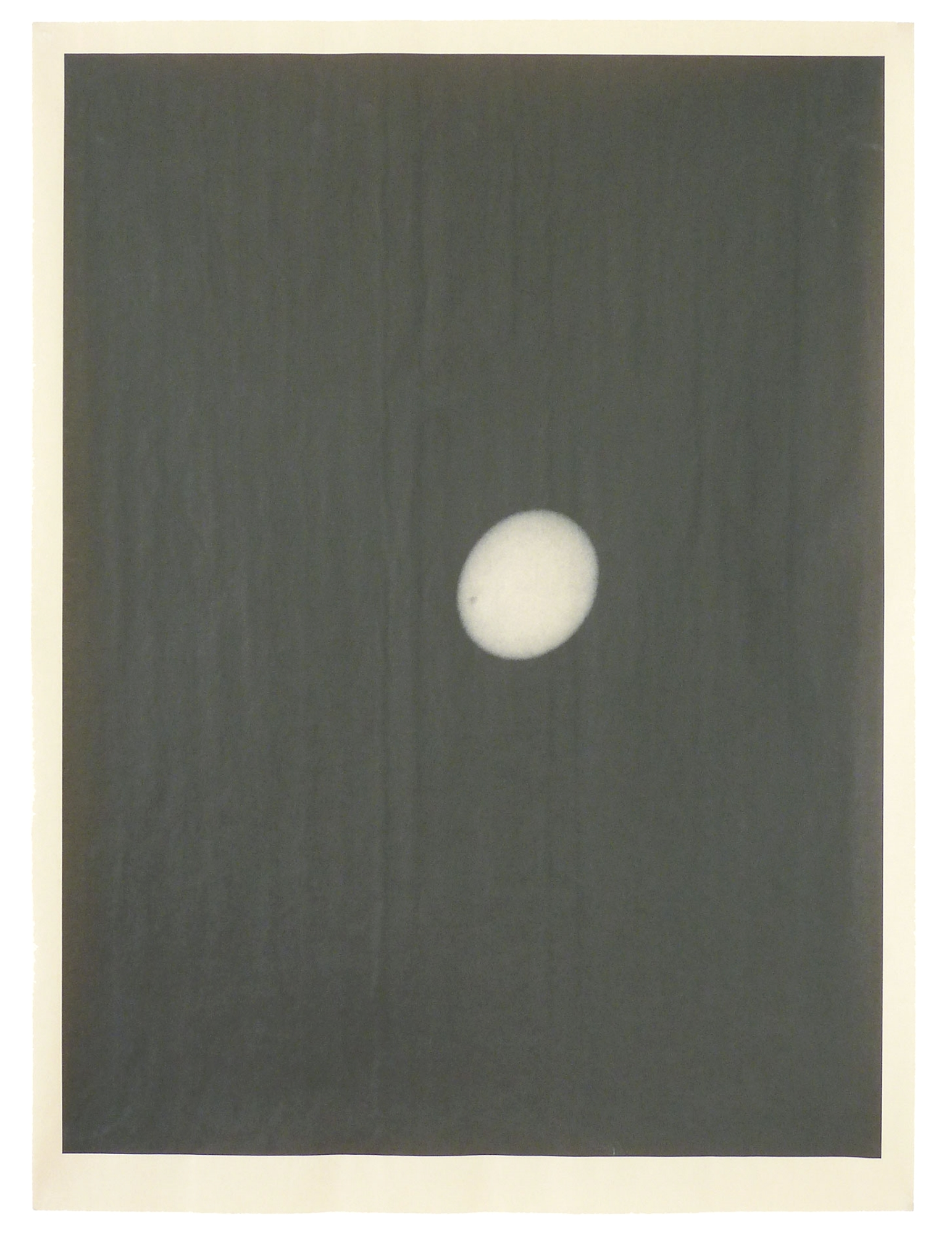 LA_30154 , unique pigment print on newsprint, 18 x 24 inches, 2014