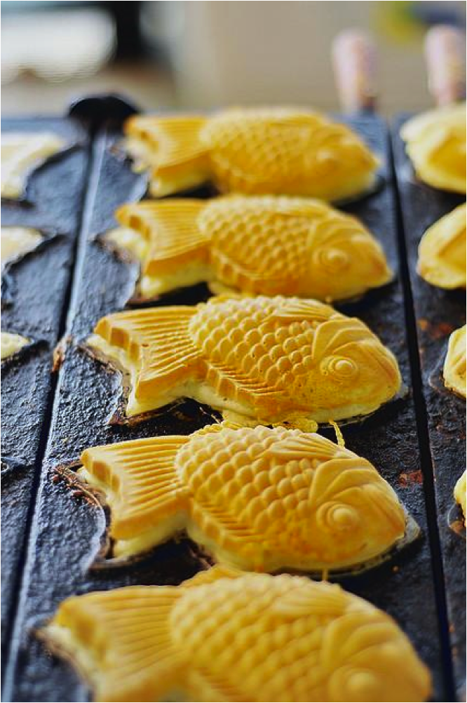 """"""" Taiyaki ,"""" by Eliza Adam. Licensed under https://creativecommons.org/licenses/by-nc-nd/2.0/"""