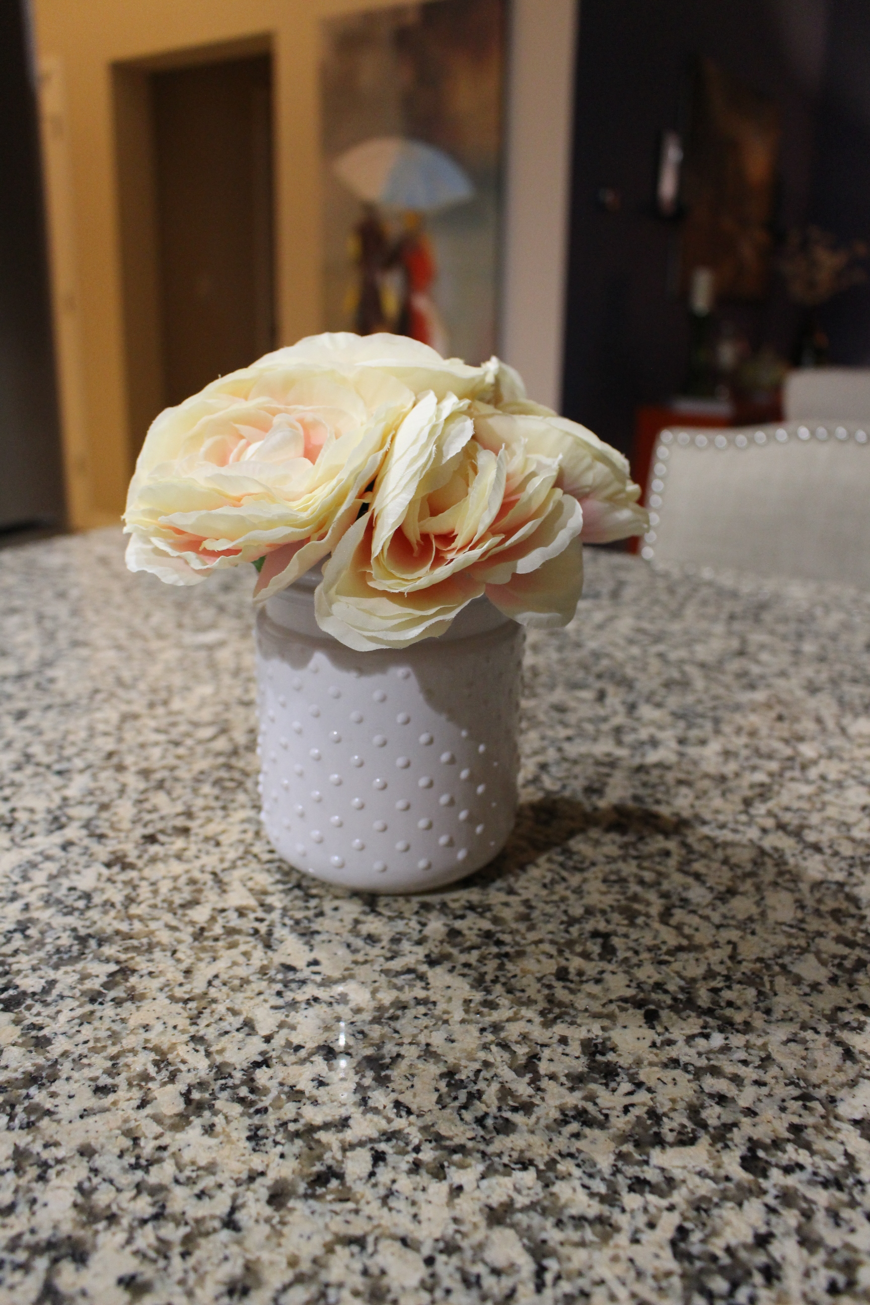 Making faux flowers look real