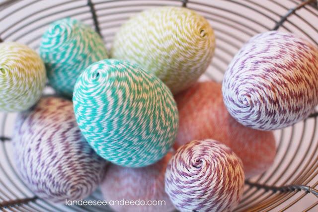 Landeelu - Baker's Twine Easter Egg DIY