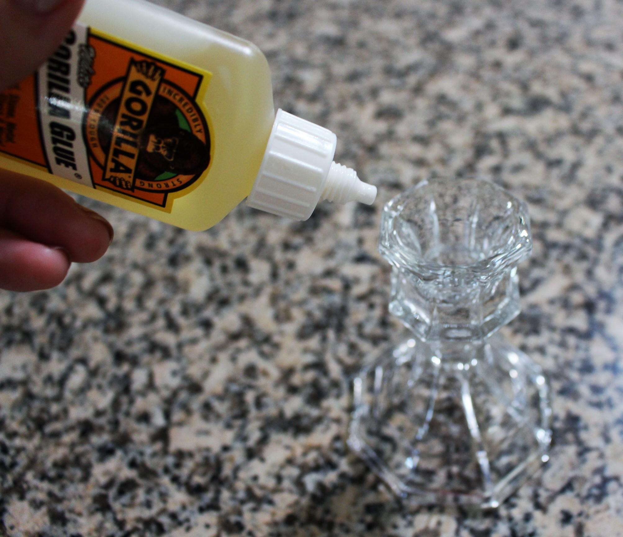 Gorilla Glue works wonderfully!