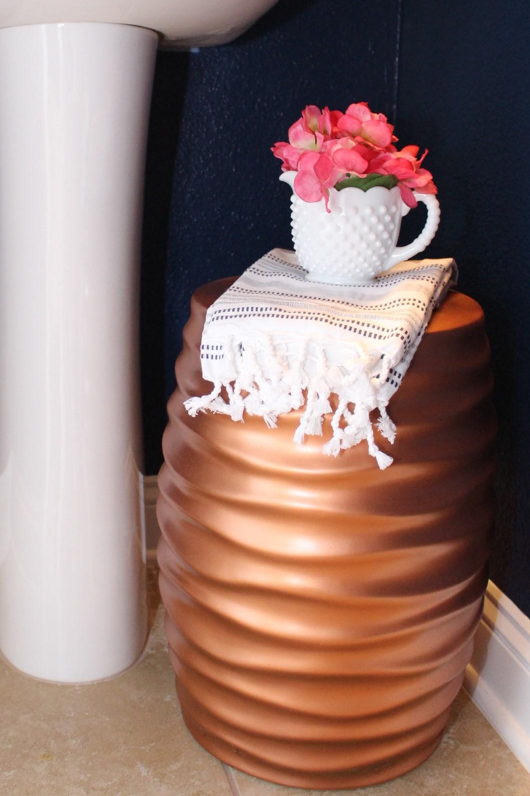 copper stool