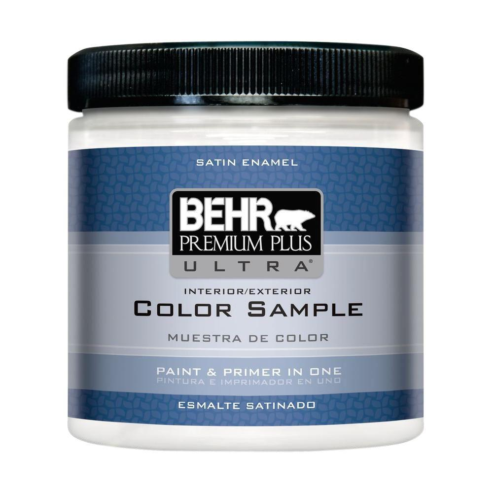Behr paint sample in Yellow Flash $3.48