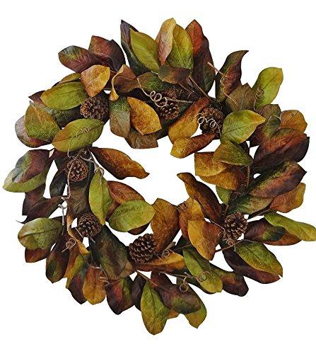 Magnolia Fall Wreath - $39.99