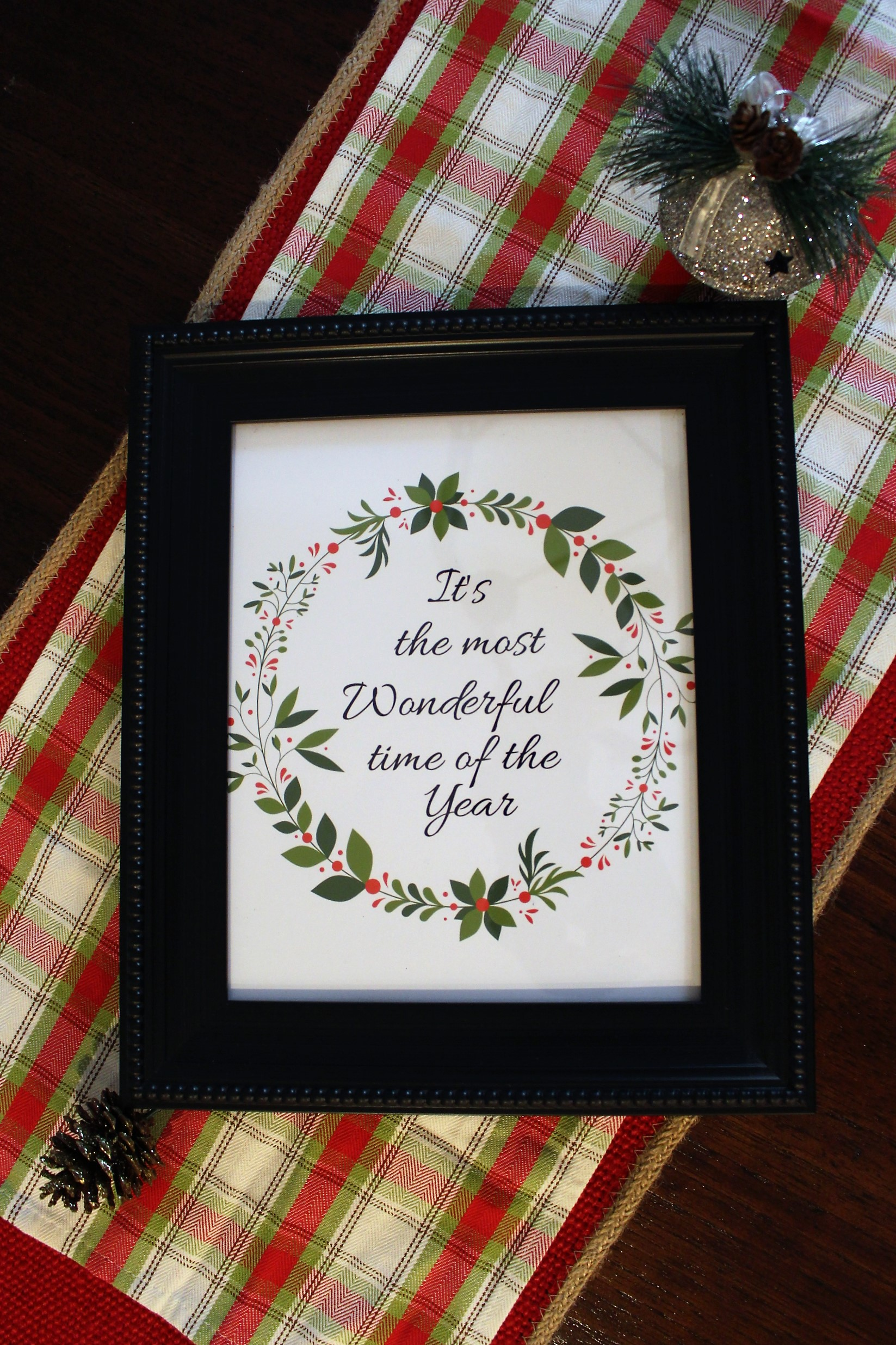 It's the most wonderful time of the year printable