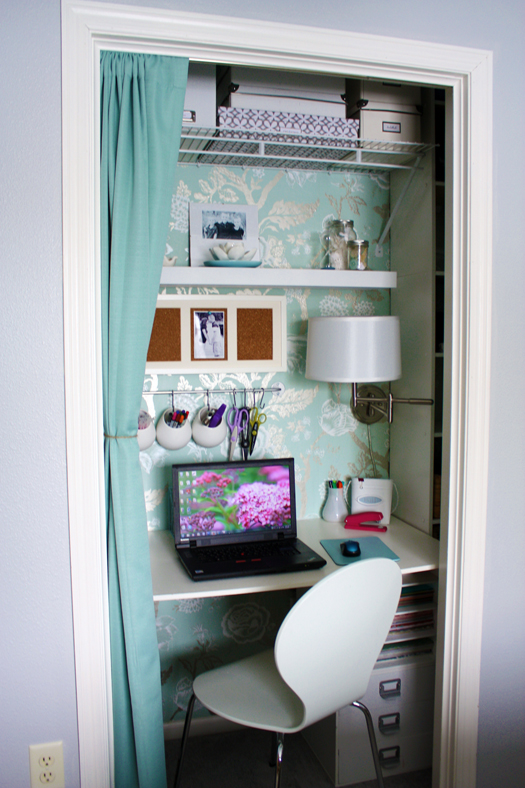 Source:  I Heart Organizing via Remodelaholic