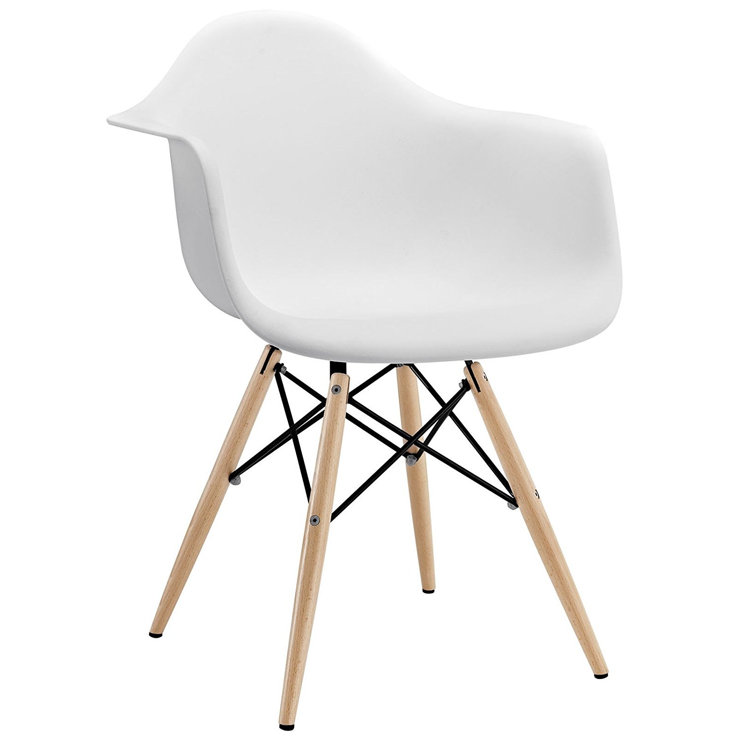 white wood pyramid chair
