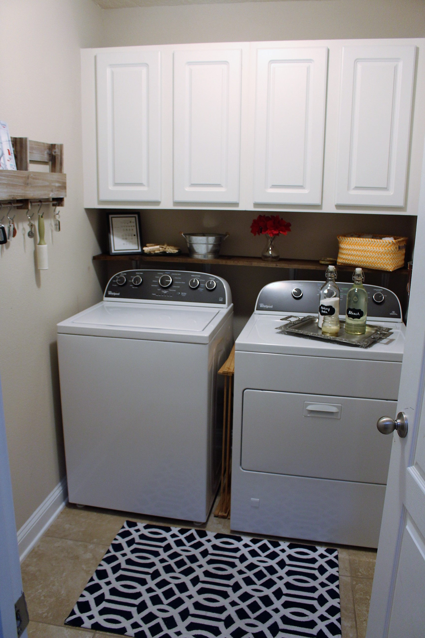 Laundry room deep cleaning