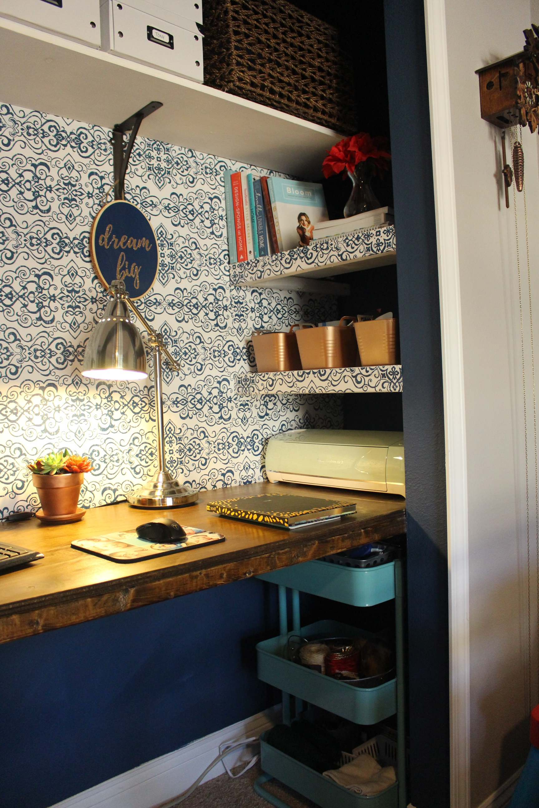 Ikea Raskog - closet office storage