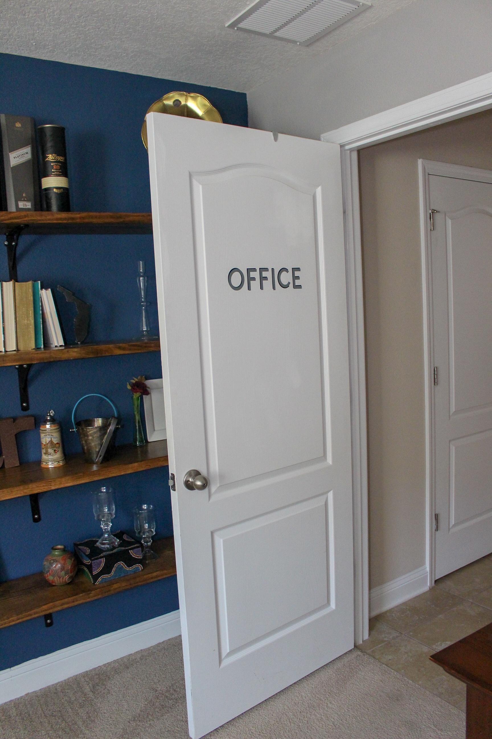 Home Office door