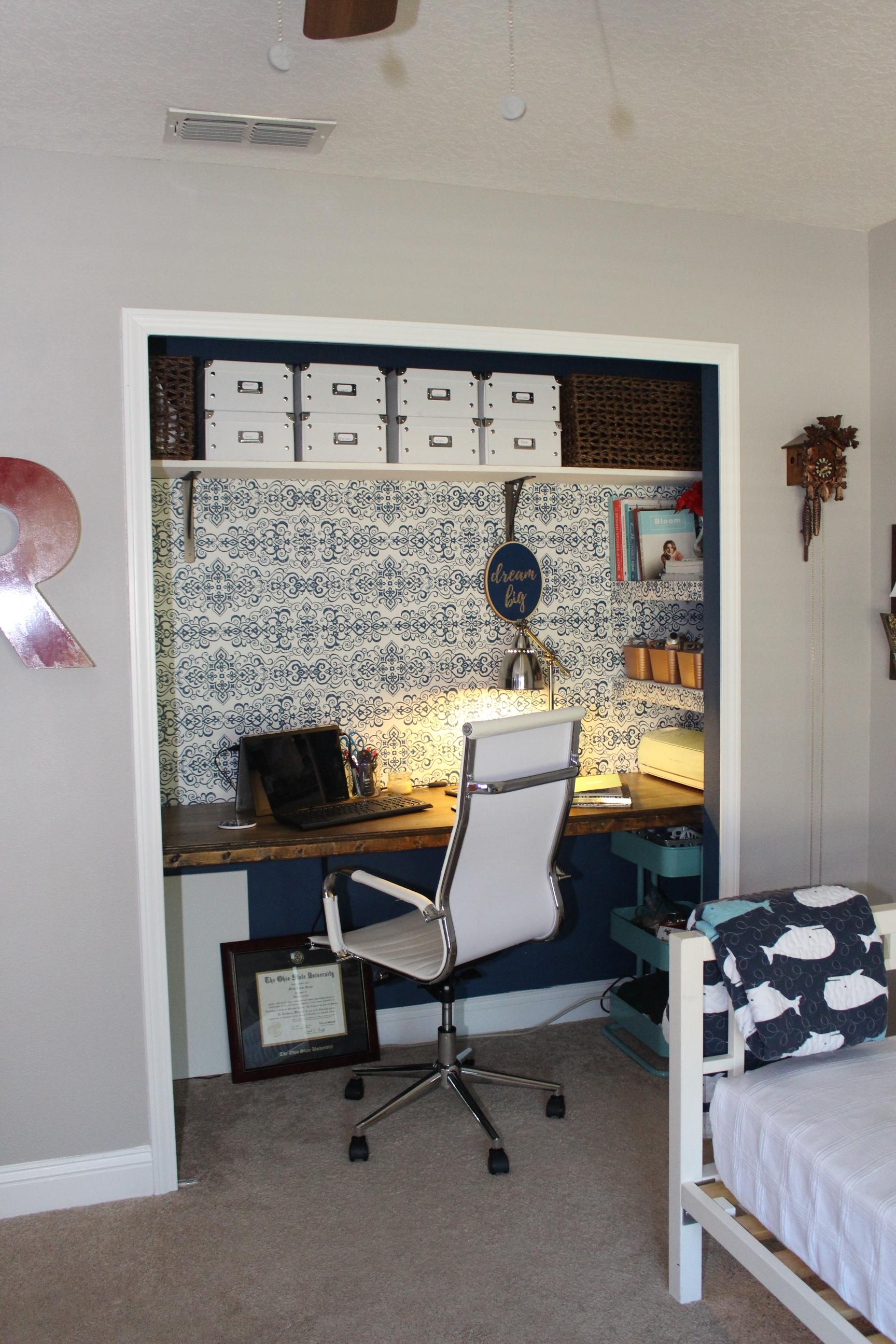 Second Closet Office
