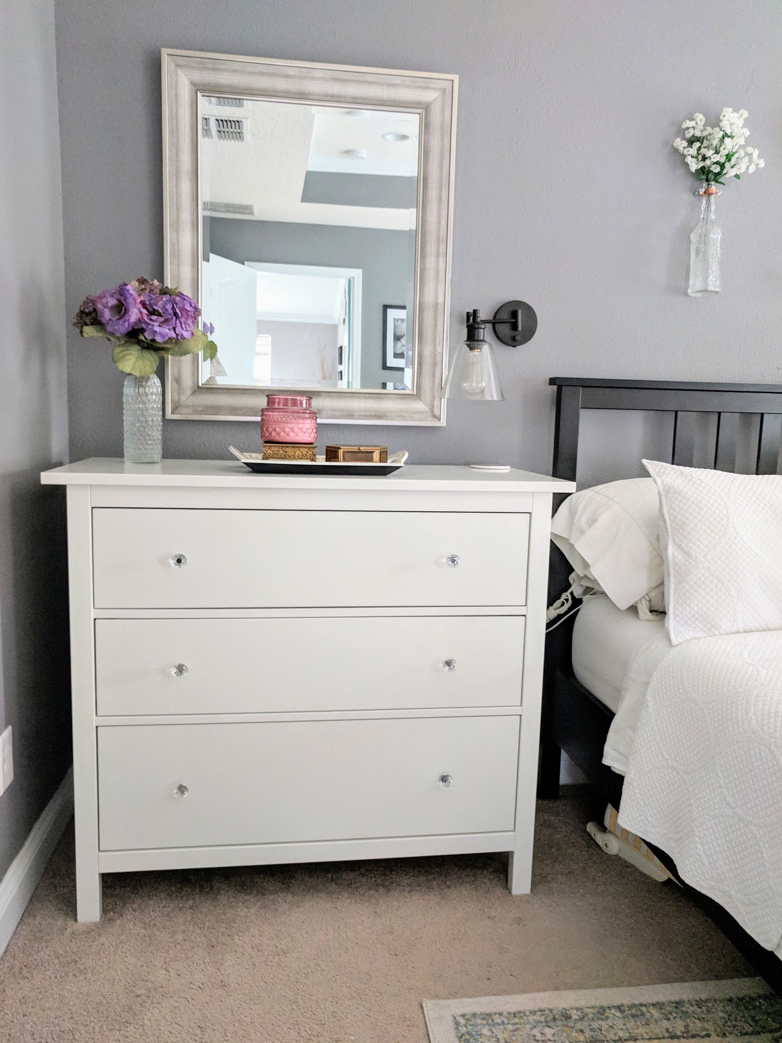 decorating a nightstand