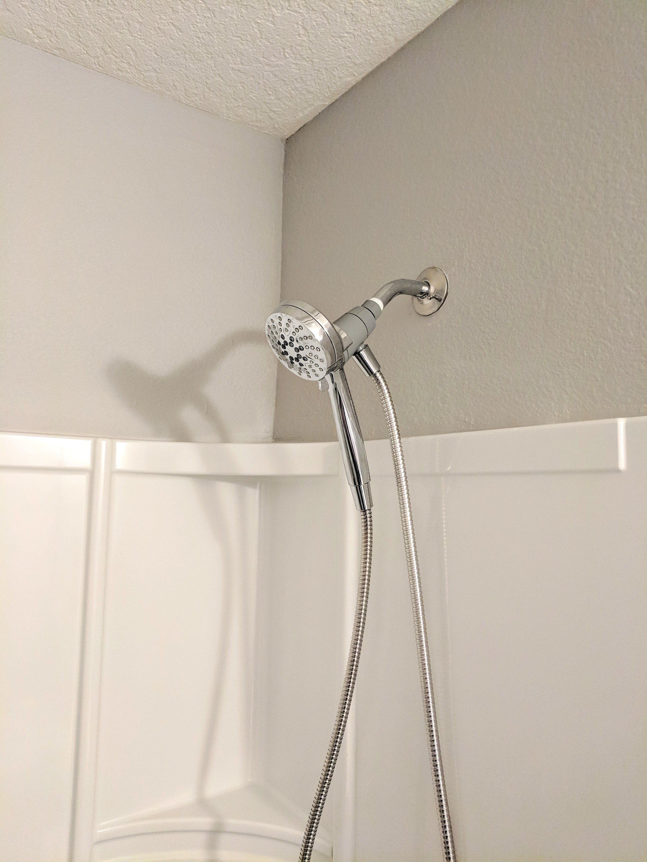 Enjoy your new shower head!