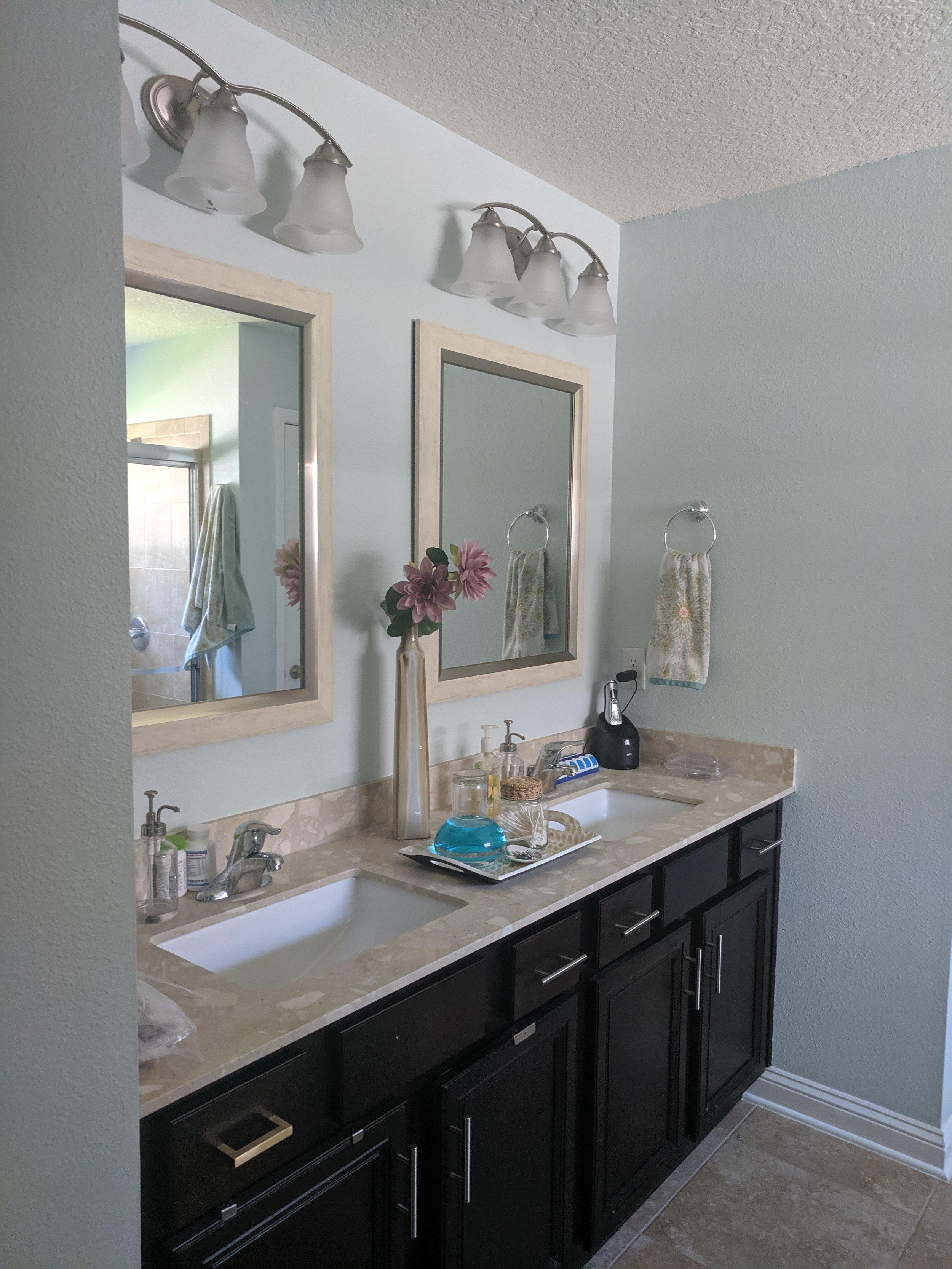BEFORE: Bathroom Vanity