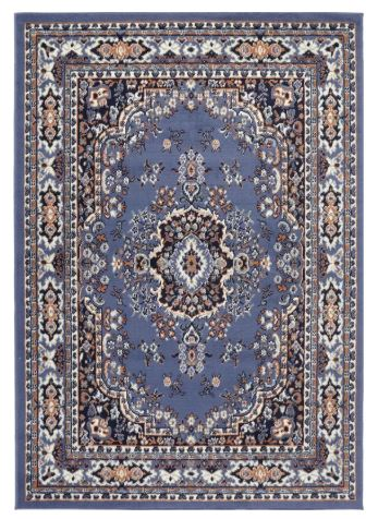 Lilly Country Blue Area Rug - Wayfair