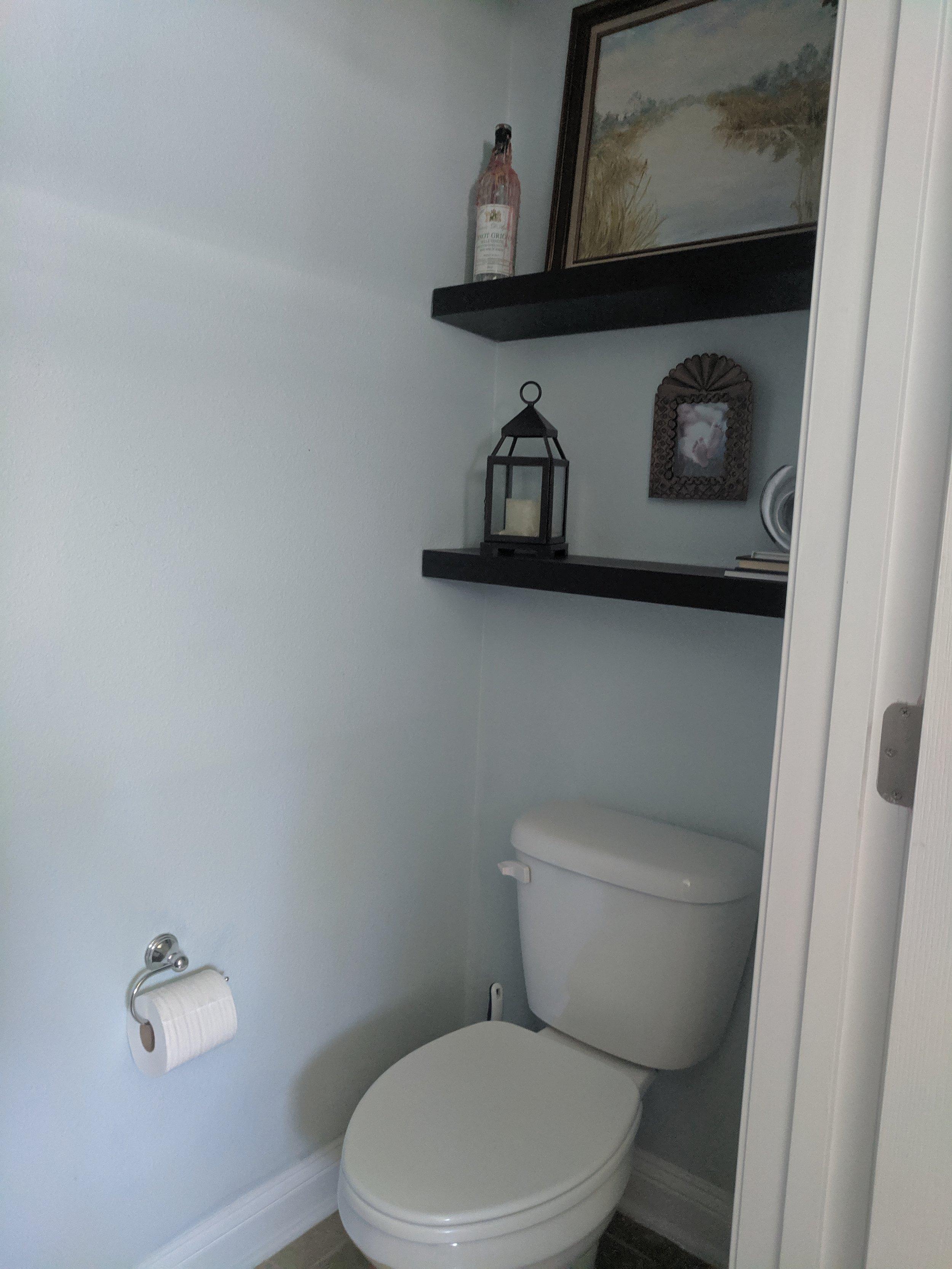BEFORE: Toilet Room