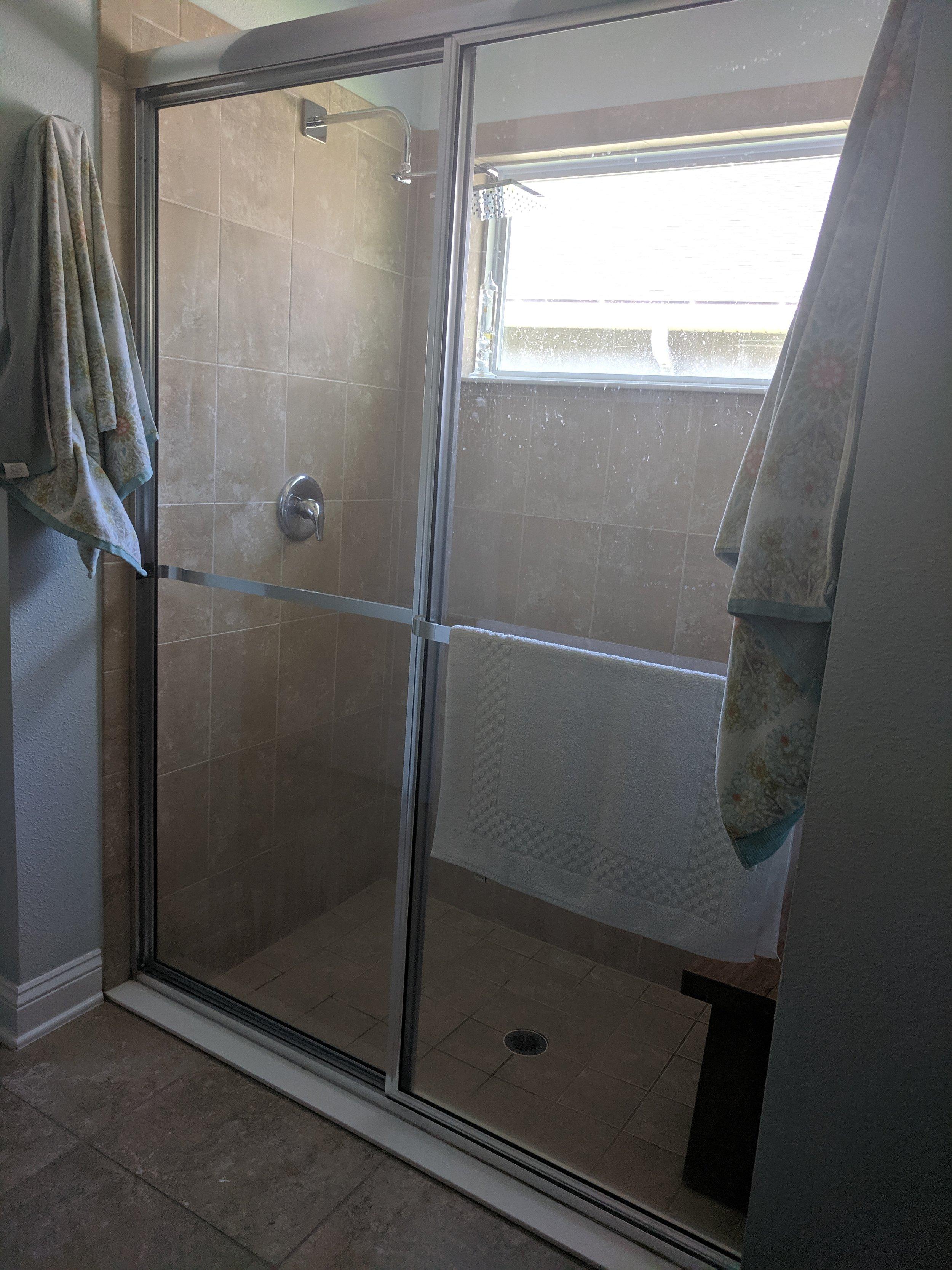 BEFORE - Shower doors