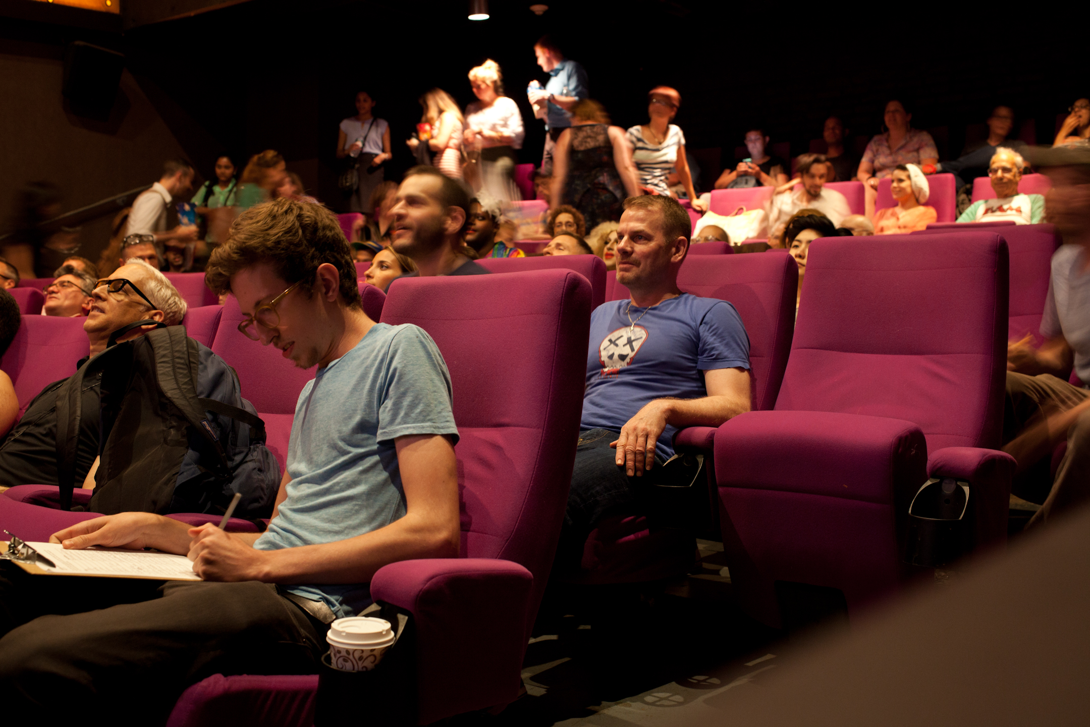 Queer|Art|Film audience at the July 2015 screening of  Hedwig and the Angry Inch.  (Photo by Ryan Morris)