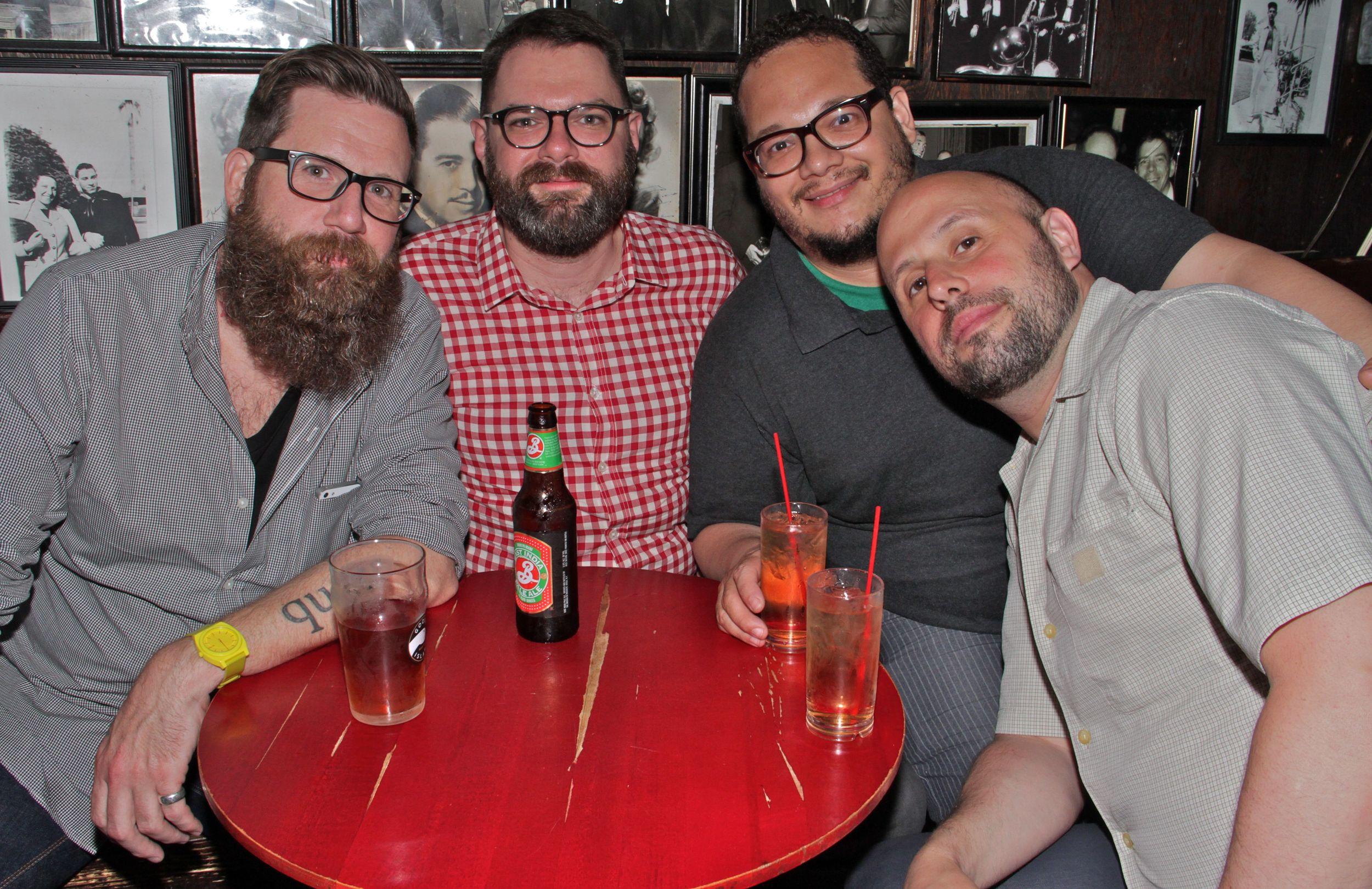 Drinks at Julius' post June 2014 screening of  Suddenly, Last Summer. (Photo by Richard Davis)