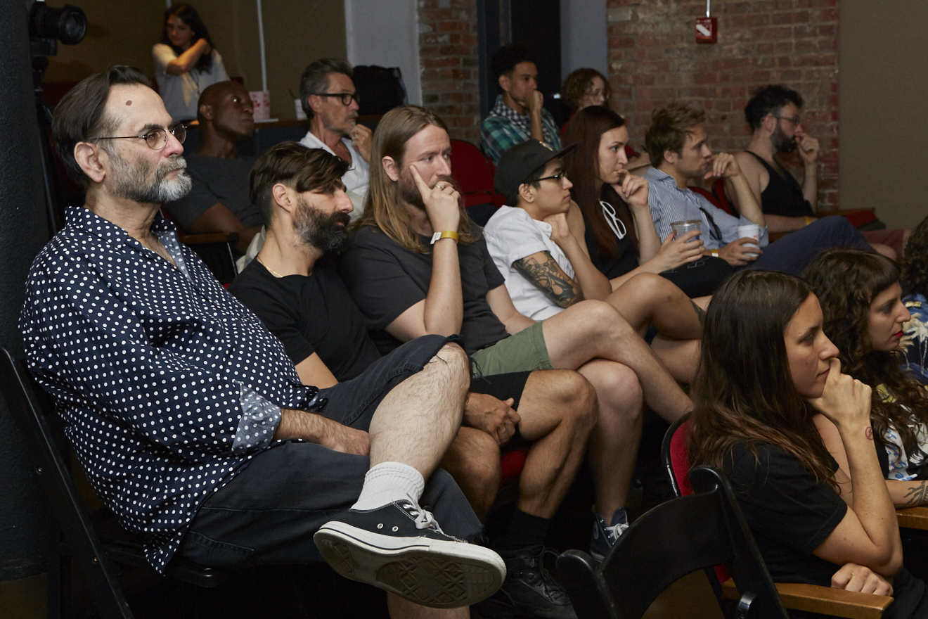 QAM Alumni Shorts Screening for Queer|Art|Pride at Wythe Hotel, June 2017. (Photo by Eric McNatt)