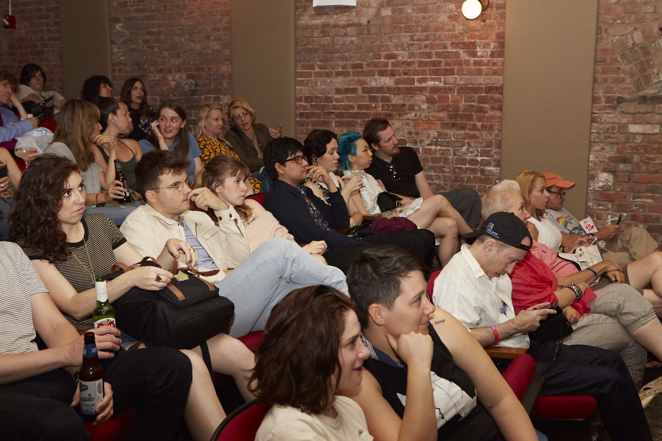 M.F.A. Special Screening (dir. Natalia Leite) for Queer|Art|Pride at Wythe Hotel, June 2017. (Photo by Eric McNatt)